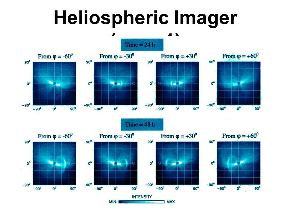 Heliospheric Imager (case 1)