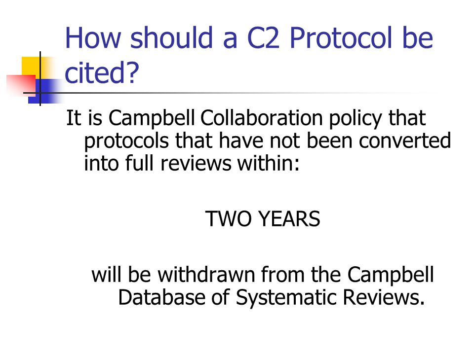 How should a C2 Protocol be cited.