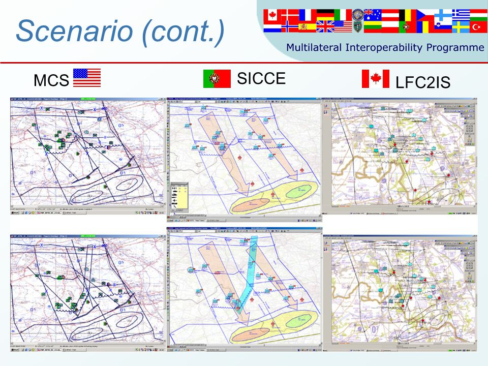 30 Scenario (cont.) SICCE LFC2IS MCS