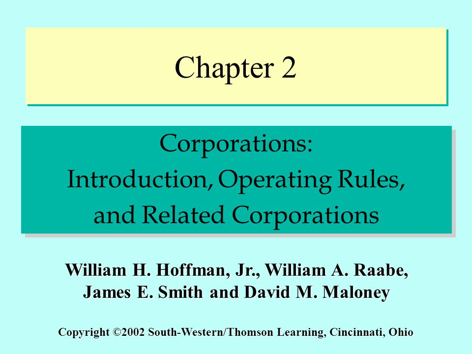 C2 - 32 Organizational Expenditures Corporation may elect to amortize organizational expenditures over period of not less than 60 months –Costs of issuing or selling stock and transferring assets to the corporation reduce the amount of capital raised and are not deductible Corporation may elect to amortize organizational expenditures over period of not less than 60 months –Costs of issuing or selling stock and transferring assets to the corporation reduce the amount of capital raised and are not deductible