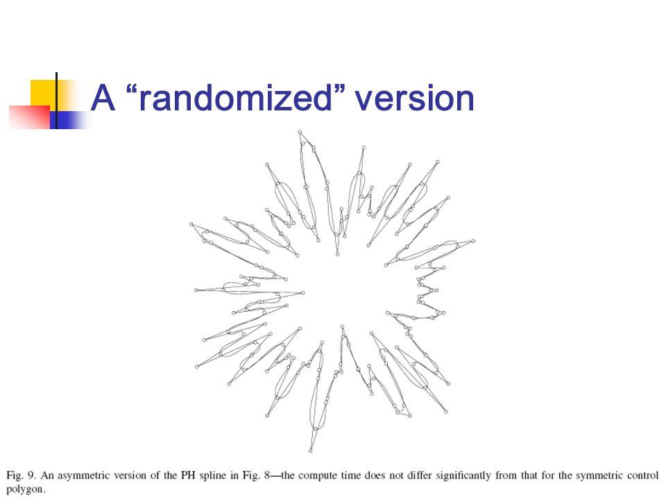 A randomized version
