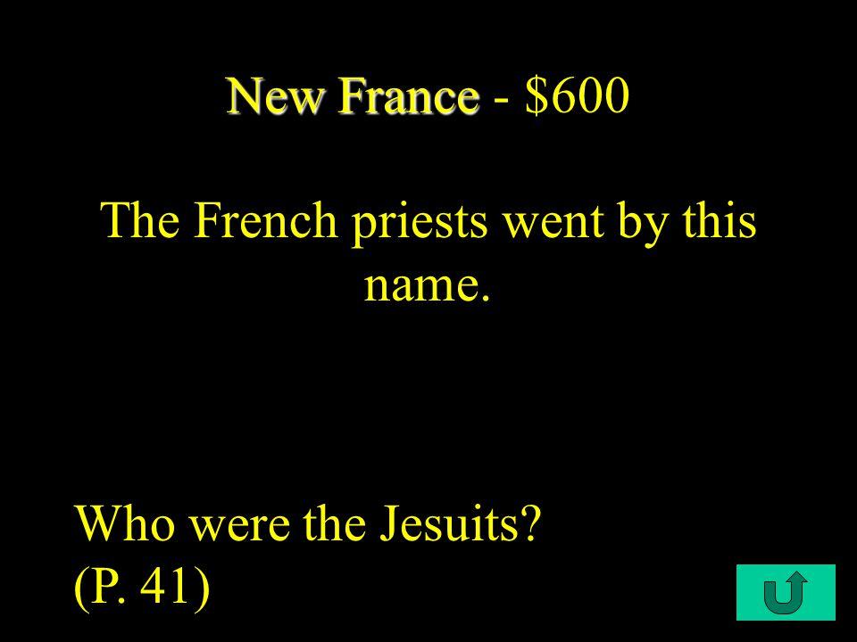 C2-$400 New France New France - $400 New France became this kind of enterprise.