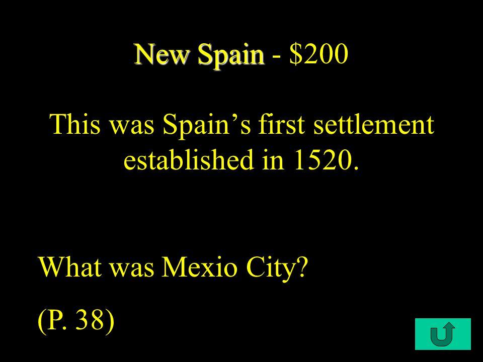 $200 $400 $600 $800 $1000 NewFranceNewNetherlandsPuritansYeomanSocietyBacon sRebellion New Spain