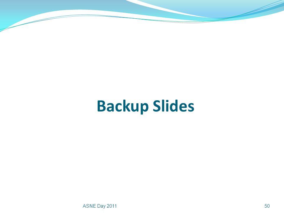 Backup Slides ASNE Day 201150