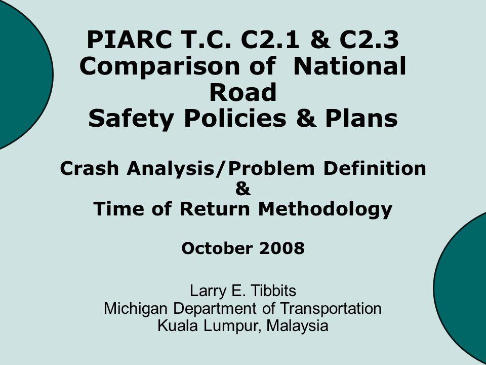 Crash Information in Michigan to Define Problems Areas