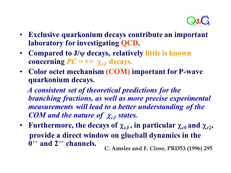 Exclusive quarkonium decays contribute an important laboratory for investigating QCD. Compared to J/  decays, relatively little is known concerning P