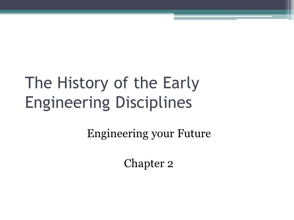 The History of Civil Engineering Part One
