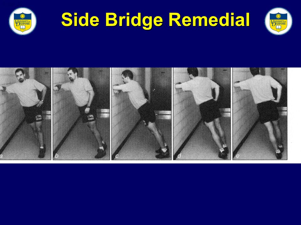 Slide 32 Side Bridge Remedial