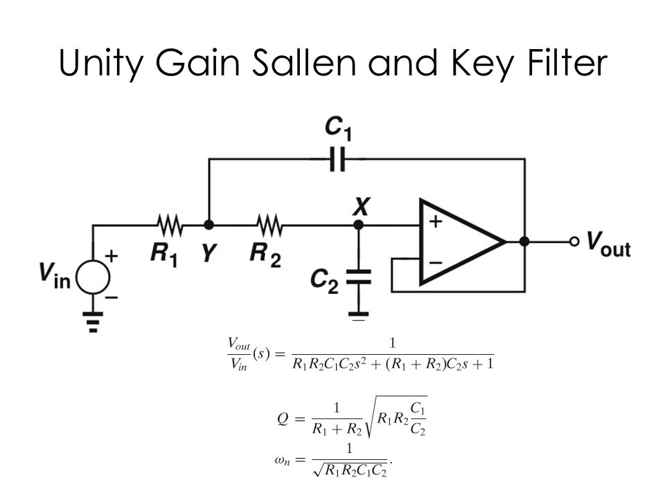 SK Filter with Gain more than 1