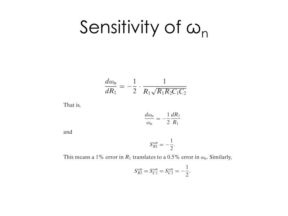 Sensitivity of Q