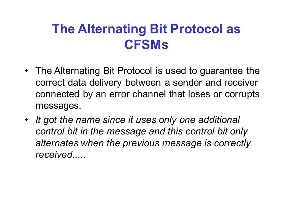 FSM in Protocol Verification