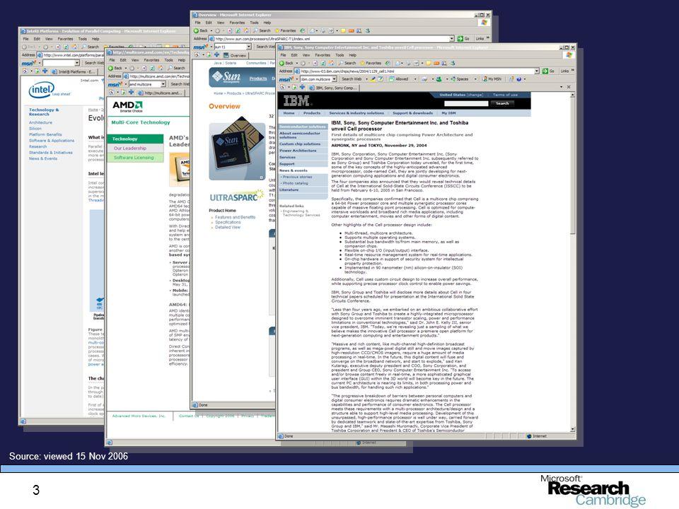 3 Source: viewed 15 Nov 2006