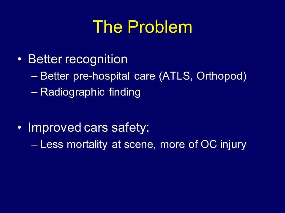 Evaluation History: mechanism of injury Physical: ATLS –2° survey: thorough neurological exam Radiology: –3-views C-spine, CT, MRI
