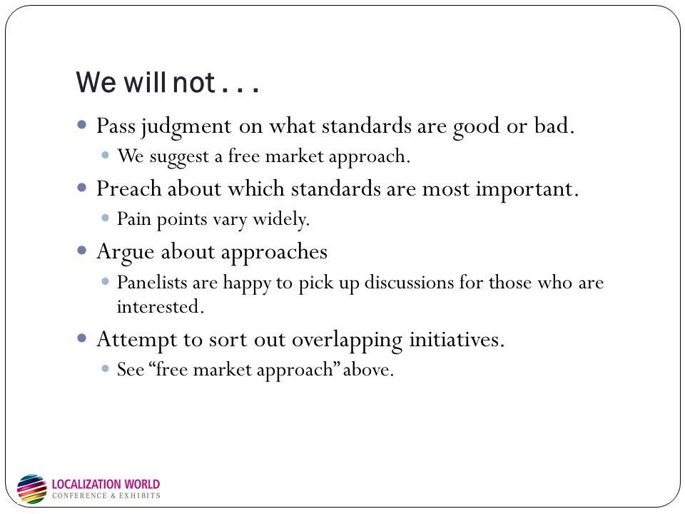 Characterizing standards success