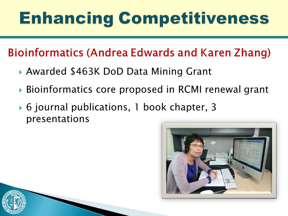 New computational content formulated for:  Existing courses (computational content to be added Fall 2013) ◦ Introduction to Engineering ◦ Introduction to Engineering Design ◦ Engineering Graphics  New courses (to be offered Fall 2013) ◦ Fundamentals of Materials Science, 3000-level ◦ Advanced Materials Synthesis, 4000-level