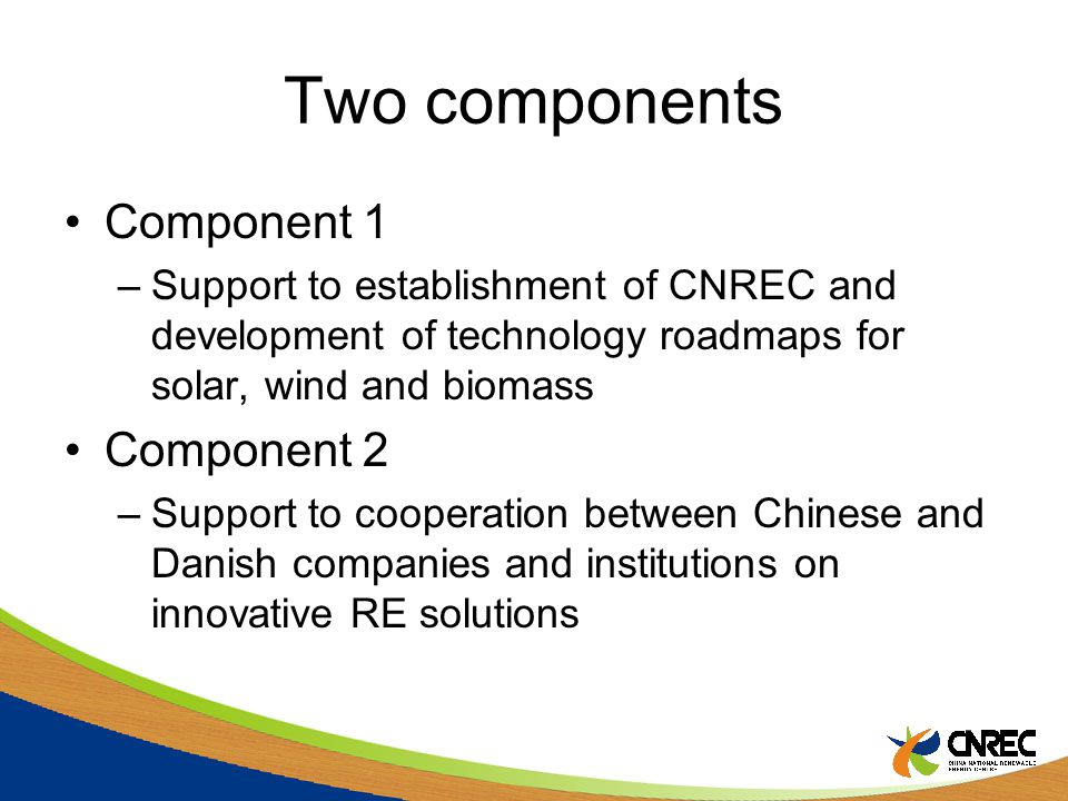 Cooperation At least one Danish and one Chinese main partner for a proposal Other partners can join the proposal
