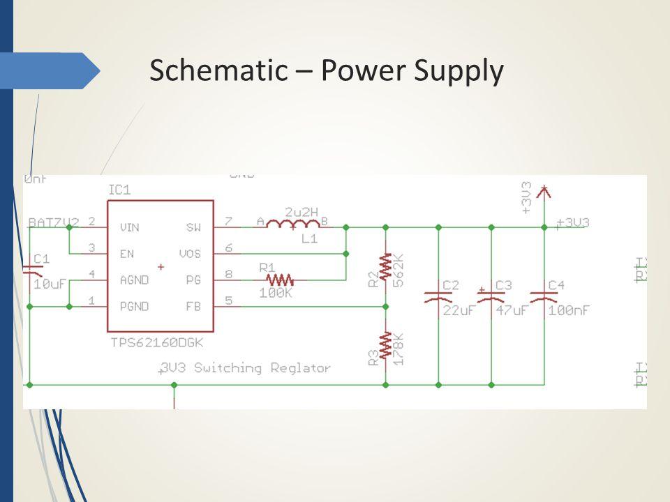 Schematic - Microcontroller