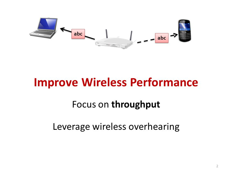Conclusion Up to 20% improvement in wireless goodput Fine-grained at network layer – Enables better leveraging of overhearing – Savings with any type of application Improvements in several wireless scenarios agember@cs.wisc.edu 23