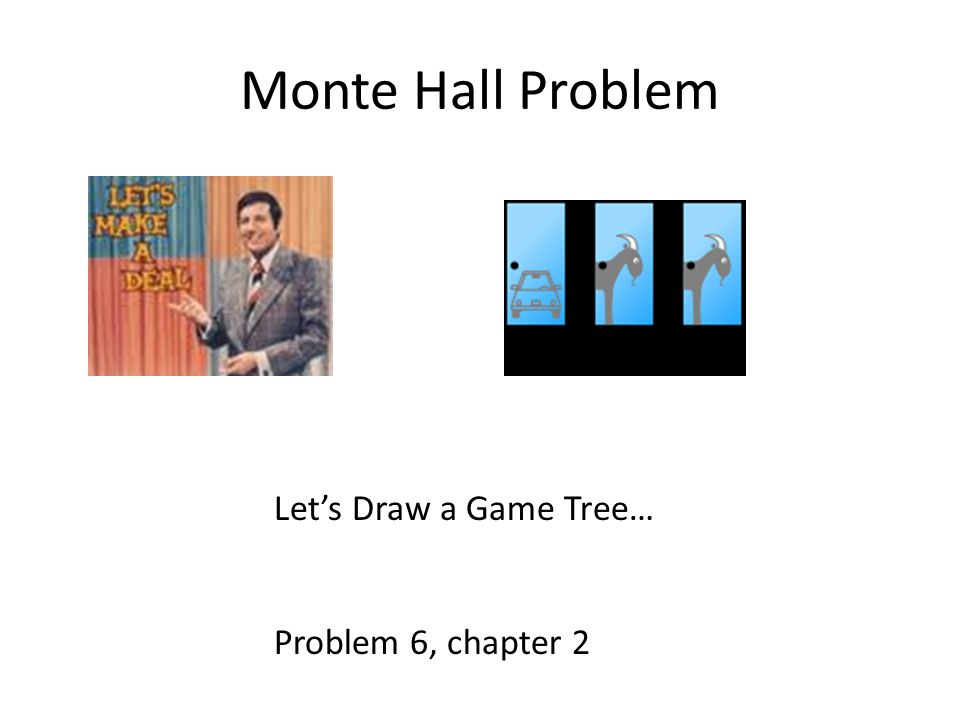 Information sets in Monte Hall game In last move, contestant knows which door he chose and which Monte opened.