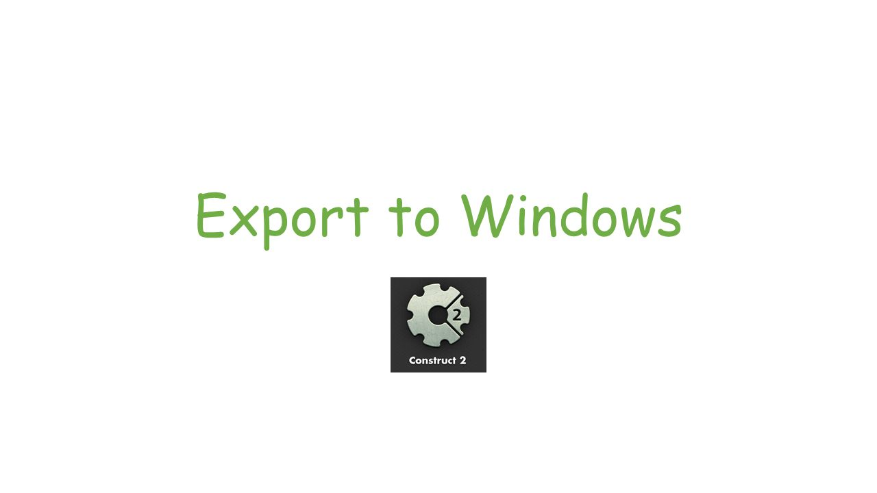 Export to Windows