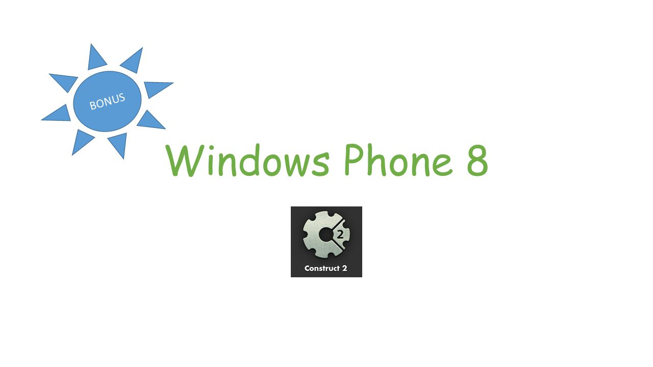 Windows Phone 8 BONUS