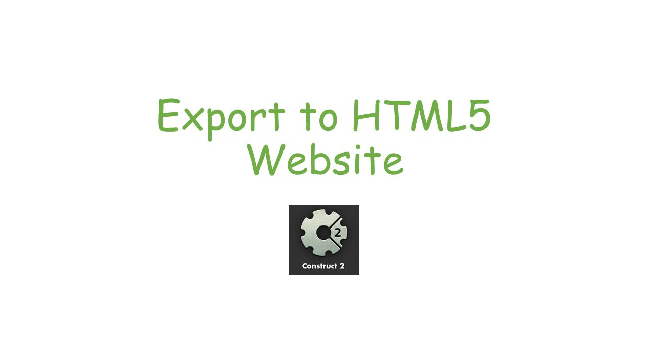 Export to HTML5 Website: Step 1 Click the Export Project button (Home tab)