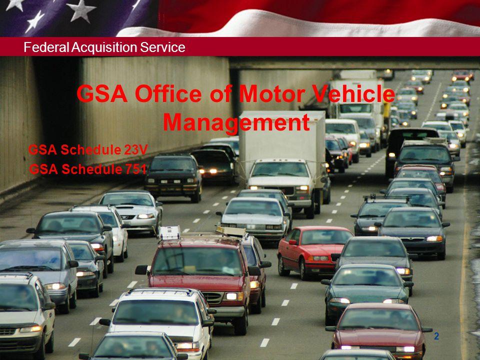 Federal Acquisition Service U.S. General Services Administration How to Prepare a Quality Automotive MAS eOffer November 30, 2011 How to Prepare a Qua