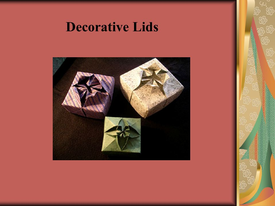 Decorative Lids
