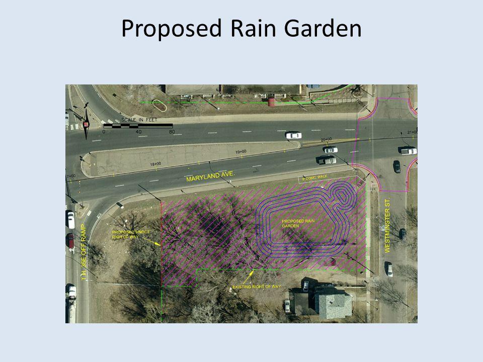 Proposed Rain Garden