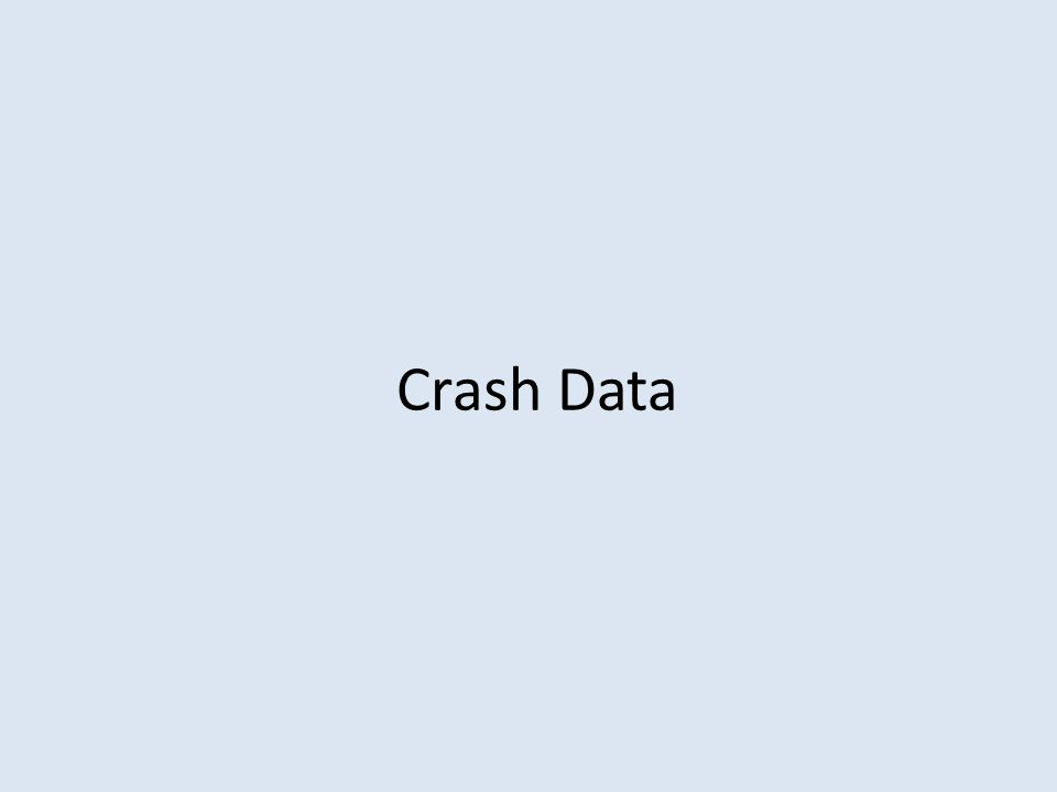 Crash Data