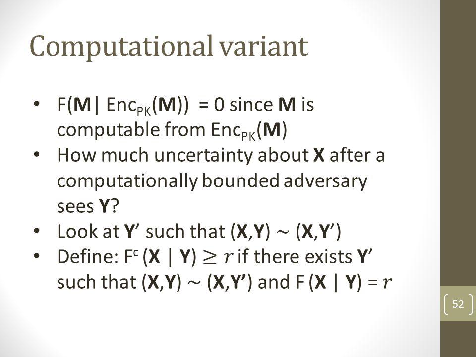 Computational variant 52