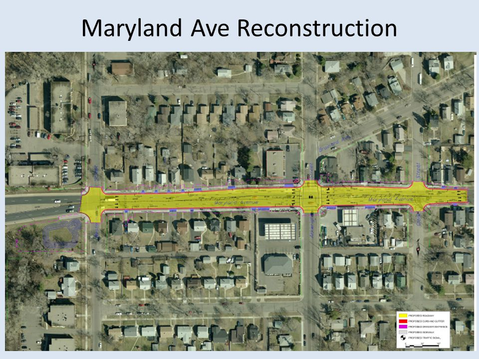 Maryland Ave Reconstruction