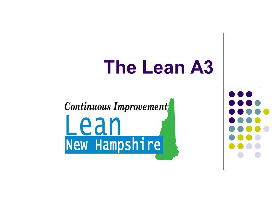 The Lean A3
