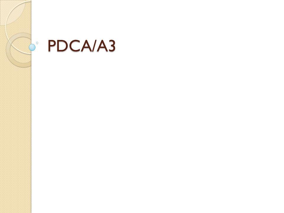 PDCA/A3