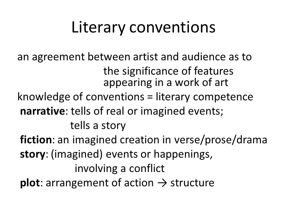 Literary, narrative, fictional: distinct features, do not presuppose each other Where do we place lyric poetry.