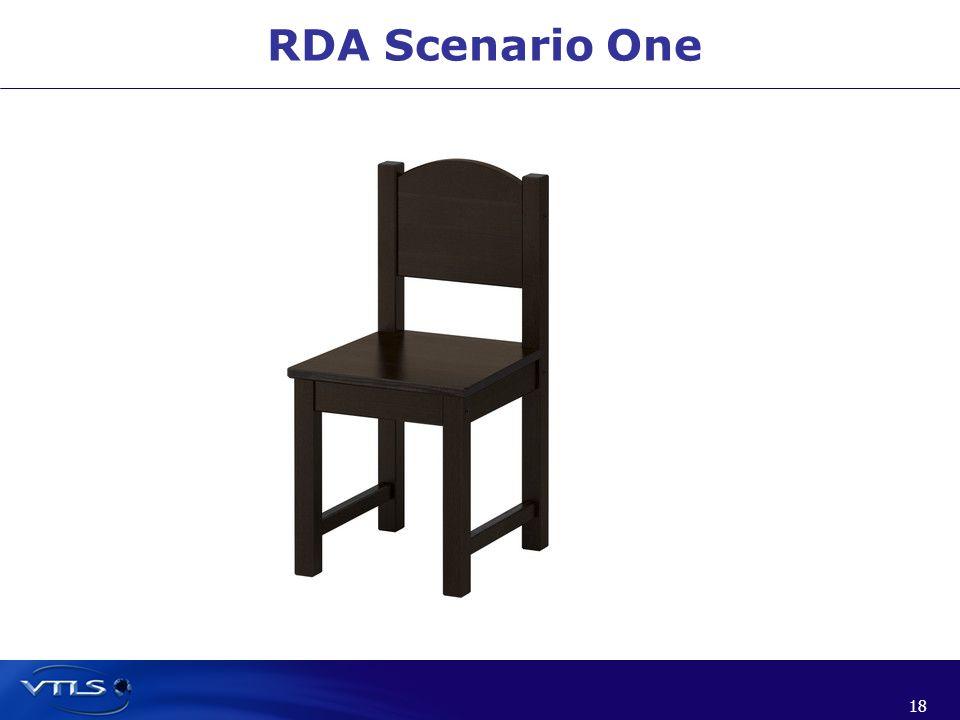 18 RDA Scenario One