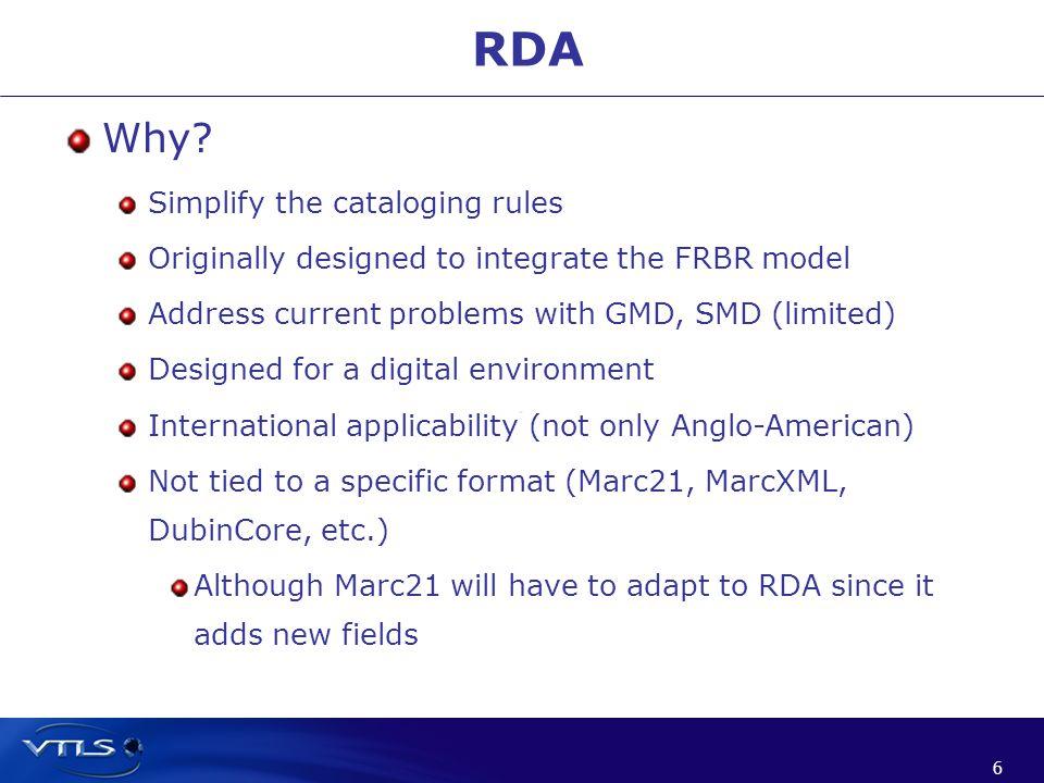 6 6 RDA Why.
