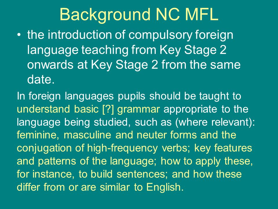 Background There is wide-spread concern among practitioners 1, advisors/consultants 2, politicians 3, journalists 4 and educators 5 that school teachers (newly qualified or already in post) possess, or acquire, the requisite competence in vocabulary/lexicology, semantics, and grammar to teach the English language and other languages as the subjects are prescribed in the national curriculum (Lord Quirk, Citation: HL Deb, 24 April 2013, c427W).