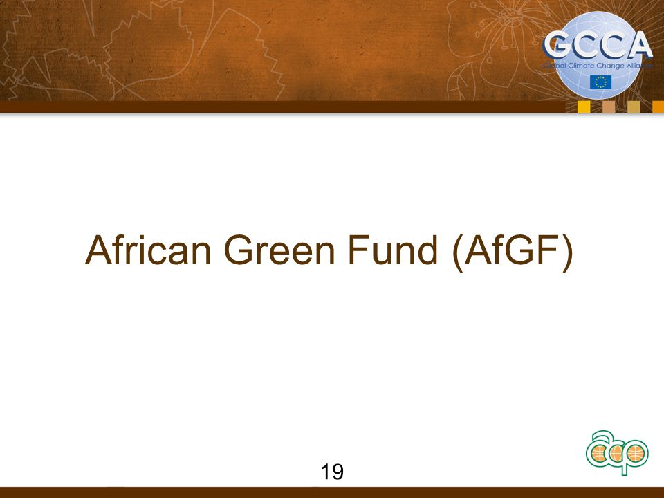 19 African Green Fund (AfGF)