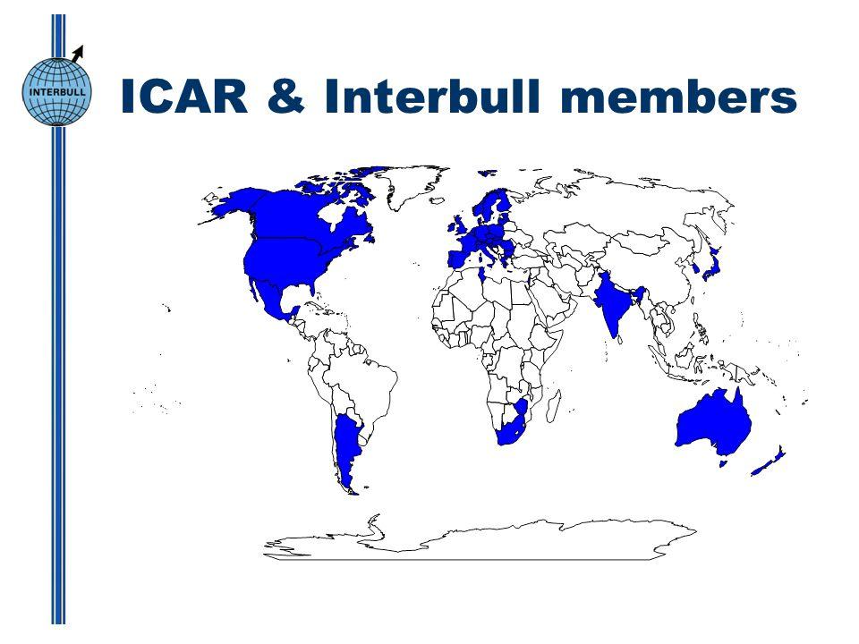 ICAR & Interbull members