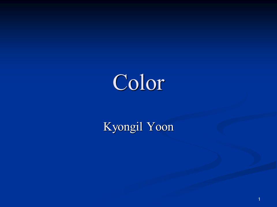 1 Color Kyongil Yoon
