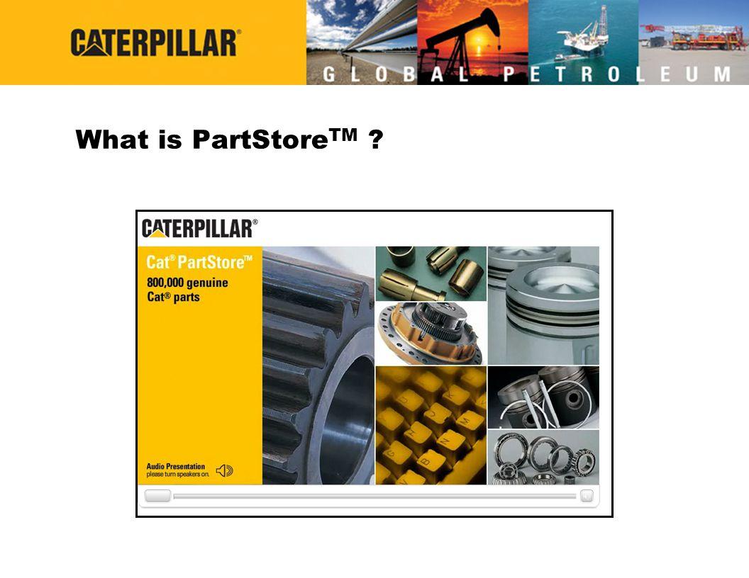 What is PartStore TM ?