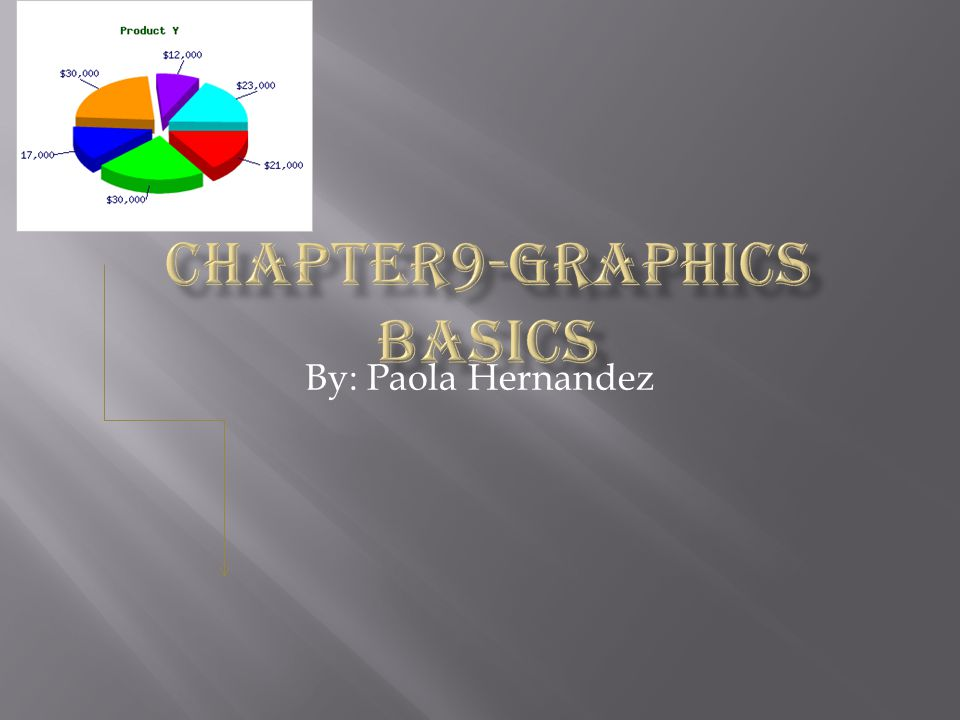  A variety of different input tools allow you to work easily with a graphics program.