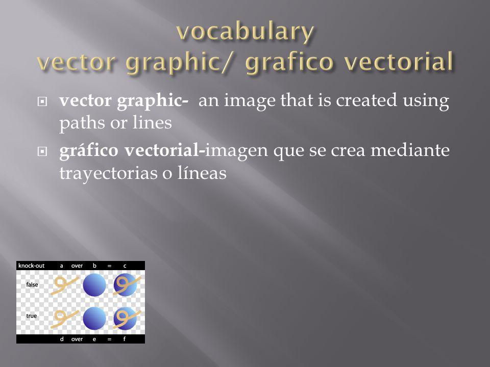  paint program- the basic program for working with a bitmapped image  programa de pintura- programa básico para trabajar con imágenes de mapa de bits