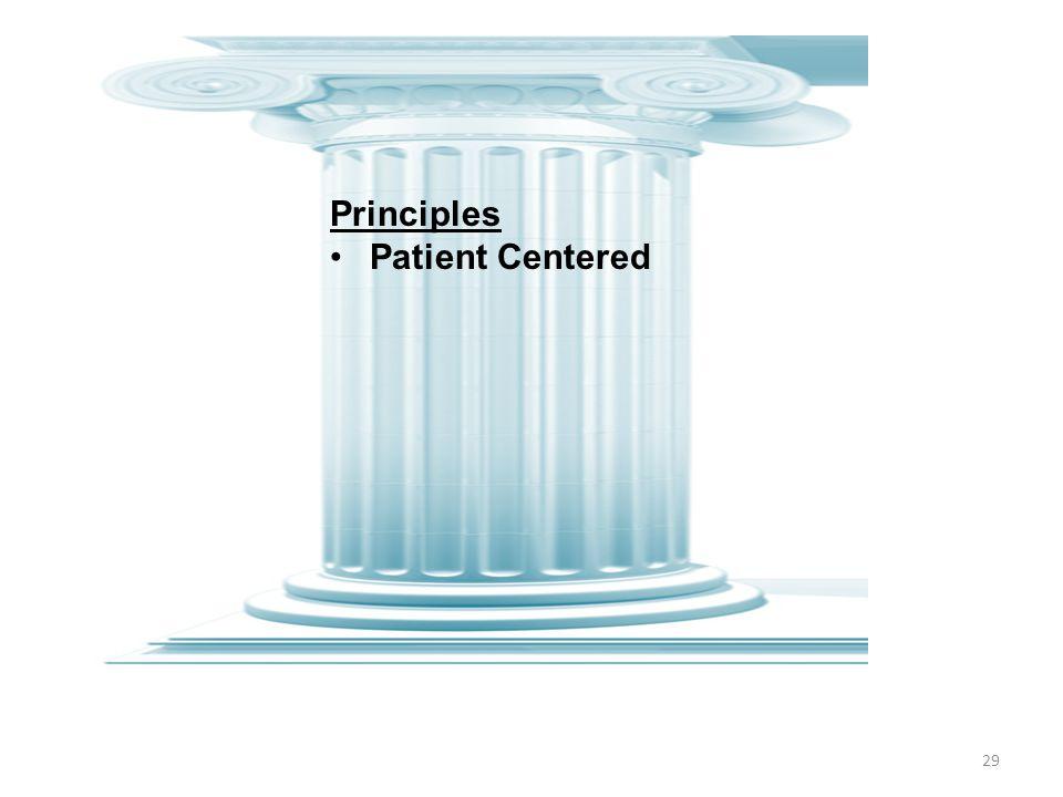 29 Principles Patient Centered