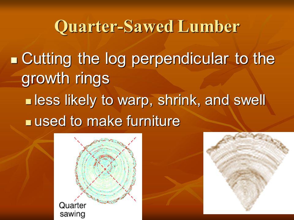 Drying Lumber Green lumber Green lumber Freshly cut lumber with 20 percent or more moisture.