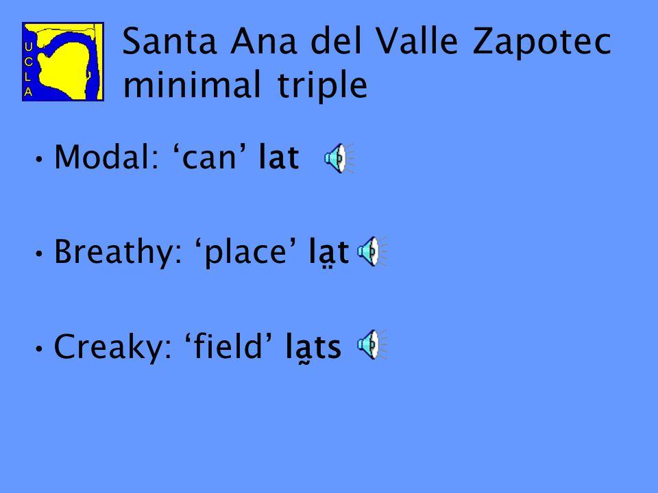 Santa Ana del Valle Zapotec Spoken in Santa Ana del Valle, Oaxaca, Mexico Related to: San Lucas Quiaviní Zapotec, San Juan Guelavía Zapotec, Tlacolula Zapotec Mexico City Oaxaca