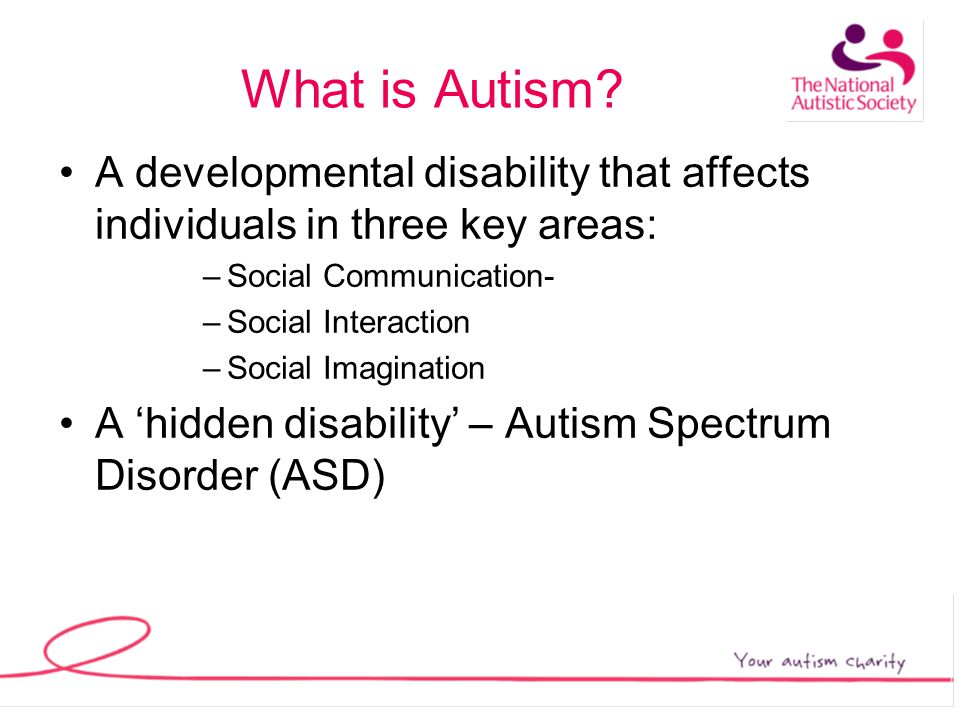 What is Autism.