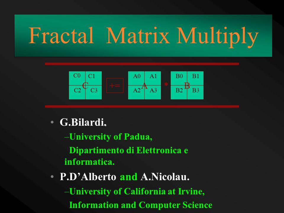 G.Bilardi. –University of Padua, Dipartimento di Elettronica e informatica.