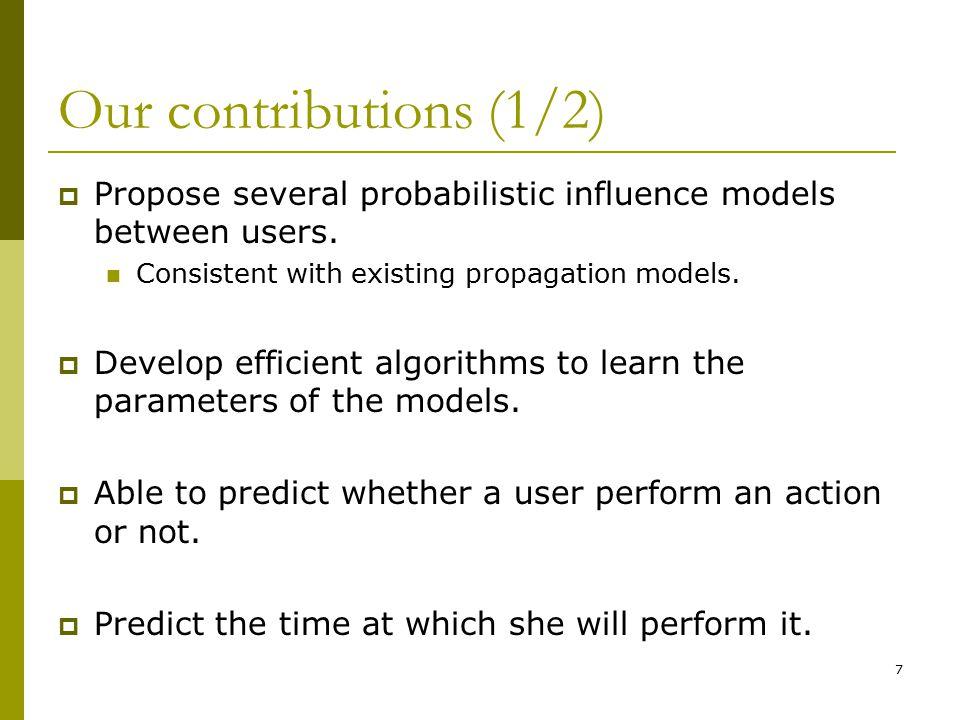 Continuous Time Models  Best model.